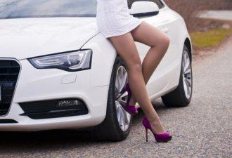 Женская месть за наглую парковку