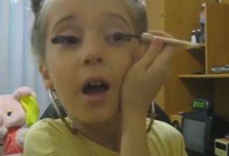 уроки макияжа от детей