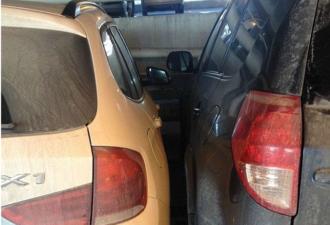 Как паркуются водители