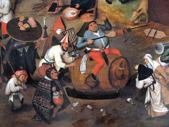 До какого возраста вы бы дожили в средневековье, пьяный дебош