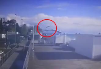 Падение вертолёта
