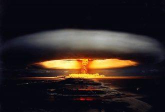 пришельцы против атомной войны, взрыв