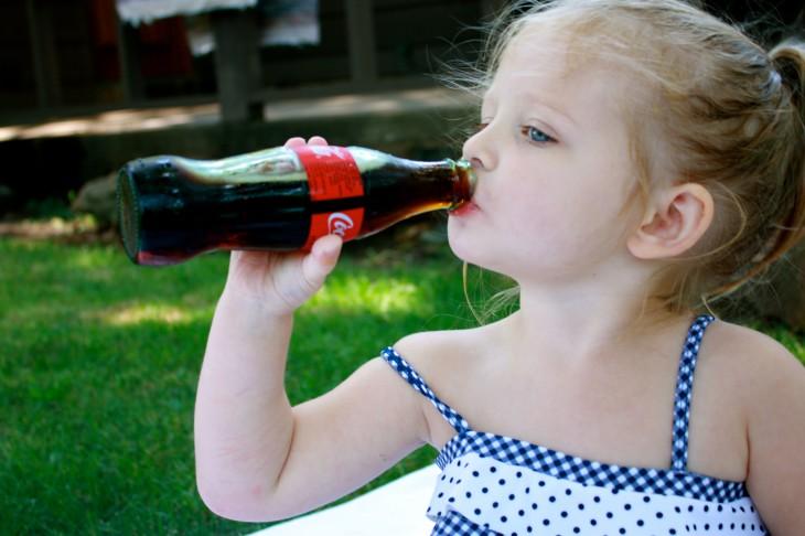 Вредна ли детям Кока-кола
