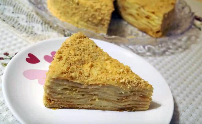Советский наполеон торт рецепт с пошагово