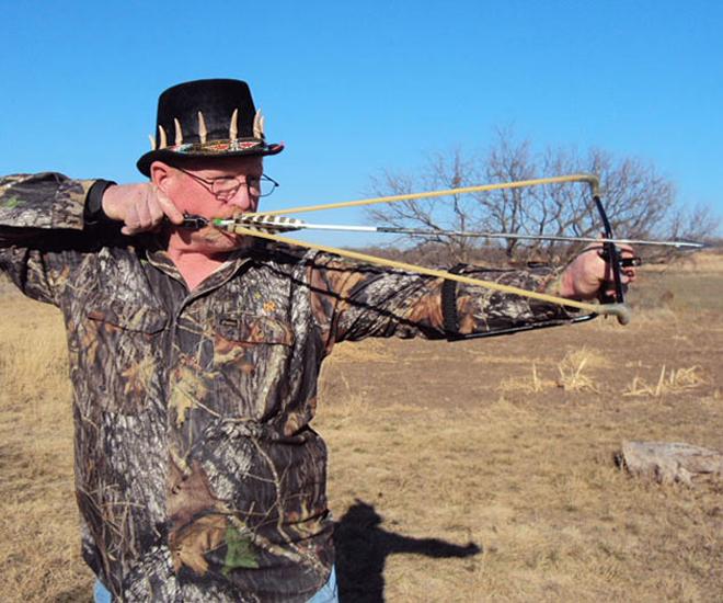 Как сделать рогатку для стрел