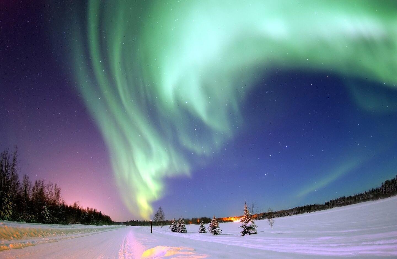 зима сказочно прекрасна, Лапландия