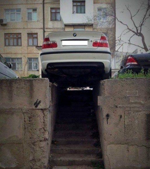 Парковка на проходе