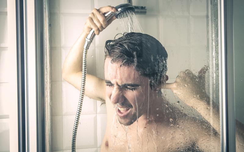 уровень тестостерона, холодный душ