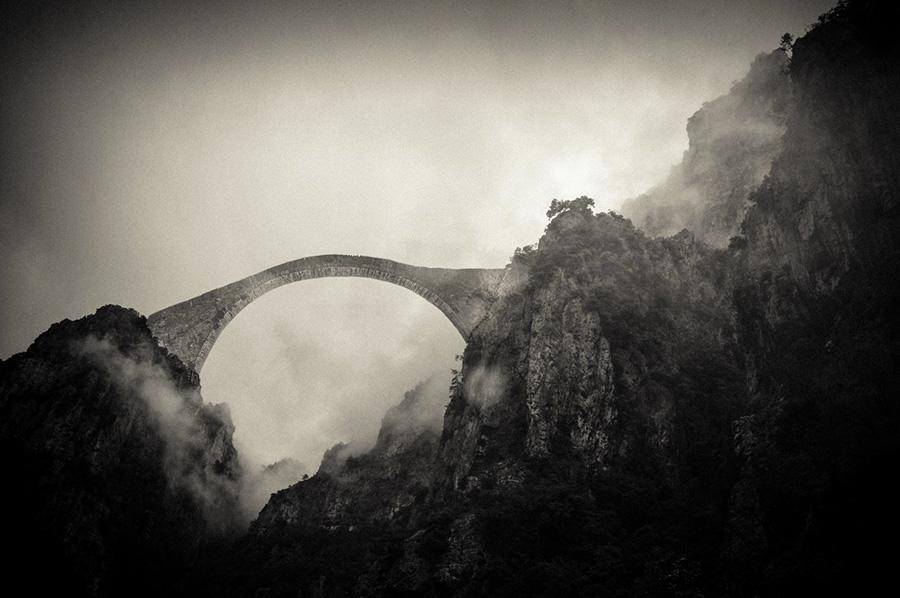 Удивительные мосты, Горы Пиндос, Греция
