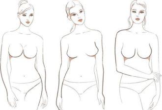 о чём говорит форма женской груди