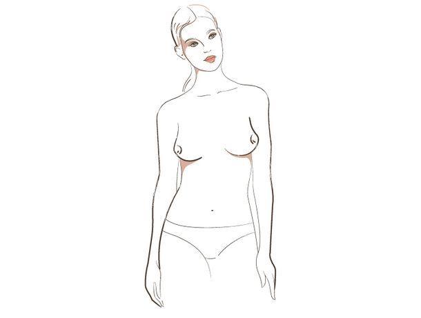 о чём говорит форма женской груди, 2 тип