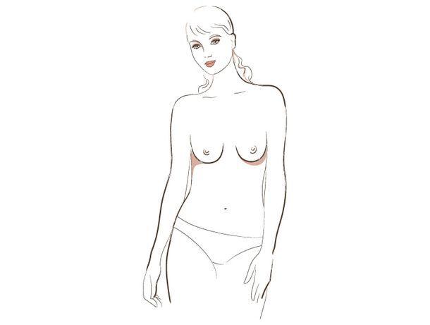 о чём говорит форма женской груди, 5 тип