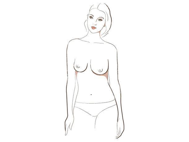 о чём говорит форма женской груди, 6 тип