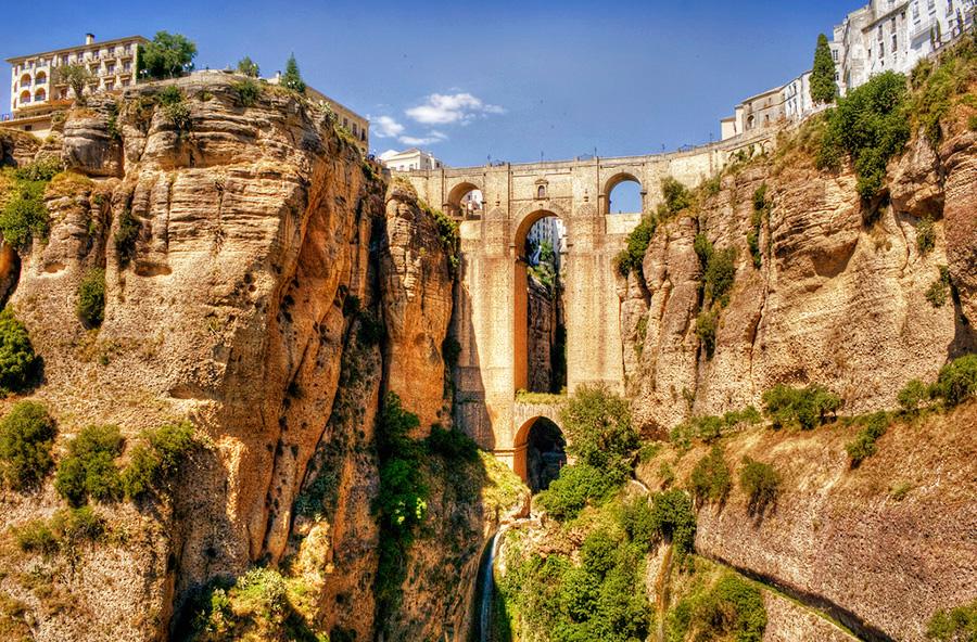 Удивительные мосты, Ронда, Малага, Испания