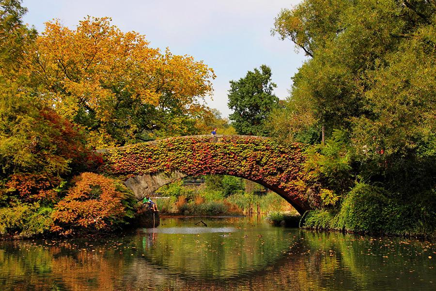 Удивительные мосты, Мост Гэпстоу, Нью-Йорк, США