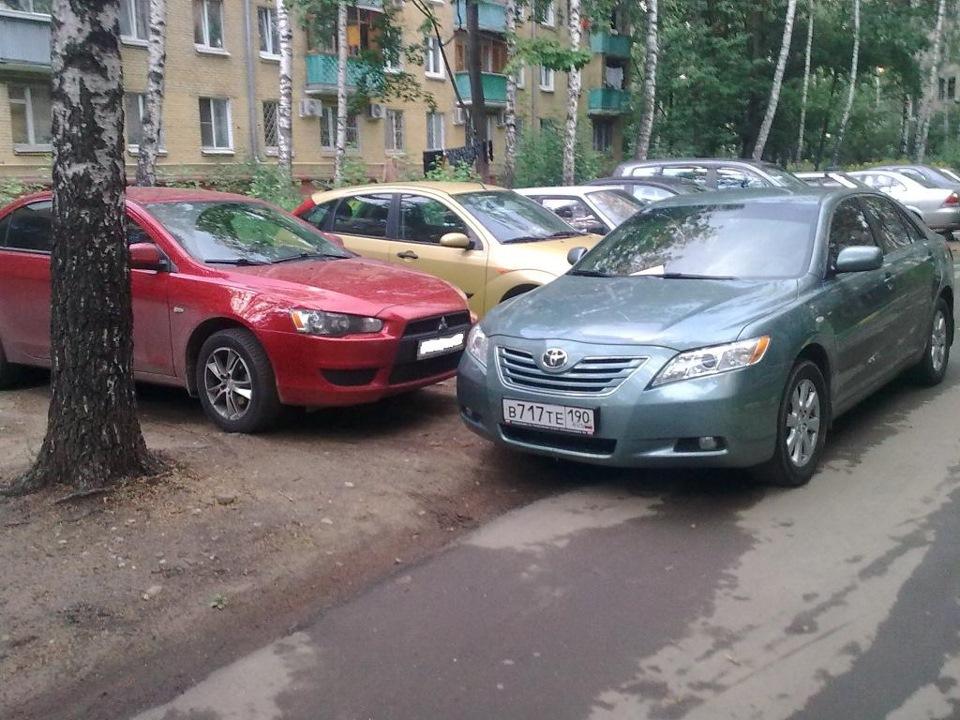 Женская месть за наглую парковку, примет парковки