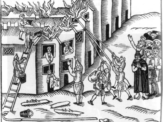До какого возраста вы бы дожили в средневековье, пожар