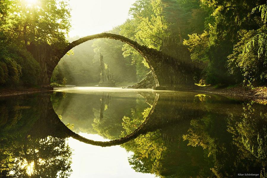 Удивительные мосты, Ракотцбрюке, Германия