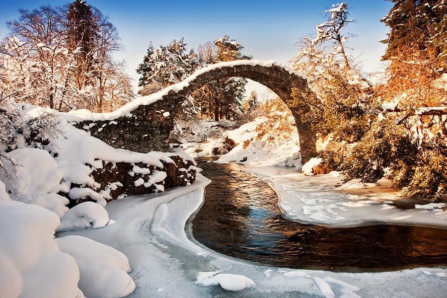 Удивительные мосты, Каррбридж, Шотландия