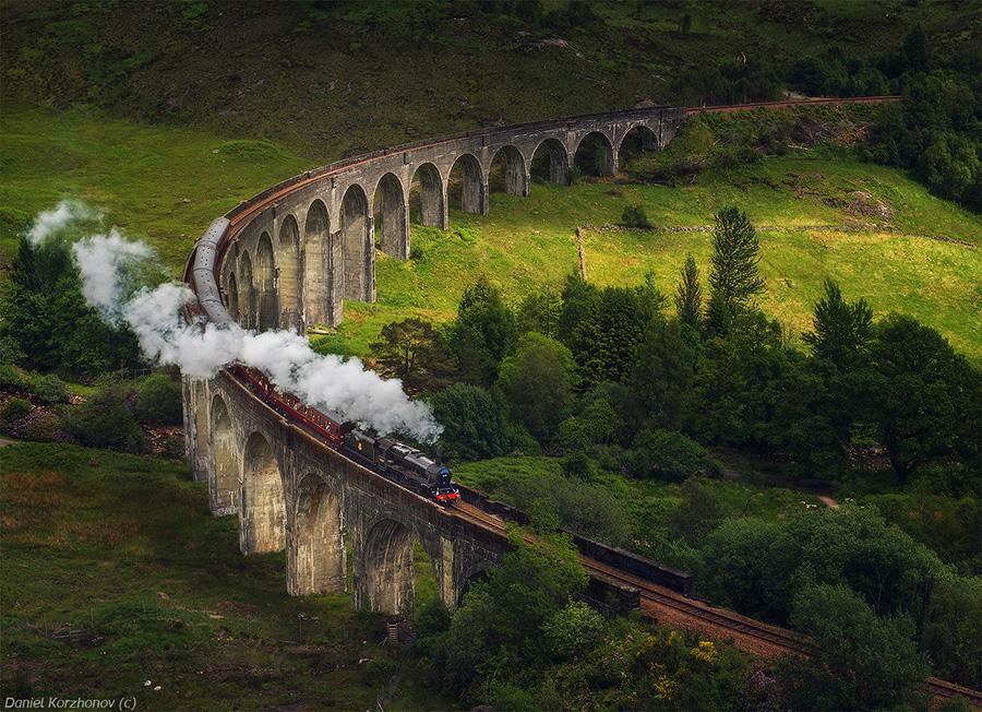 Удивительные мосты, Виадук Гленфиннан, Шотландия