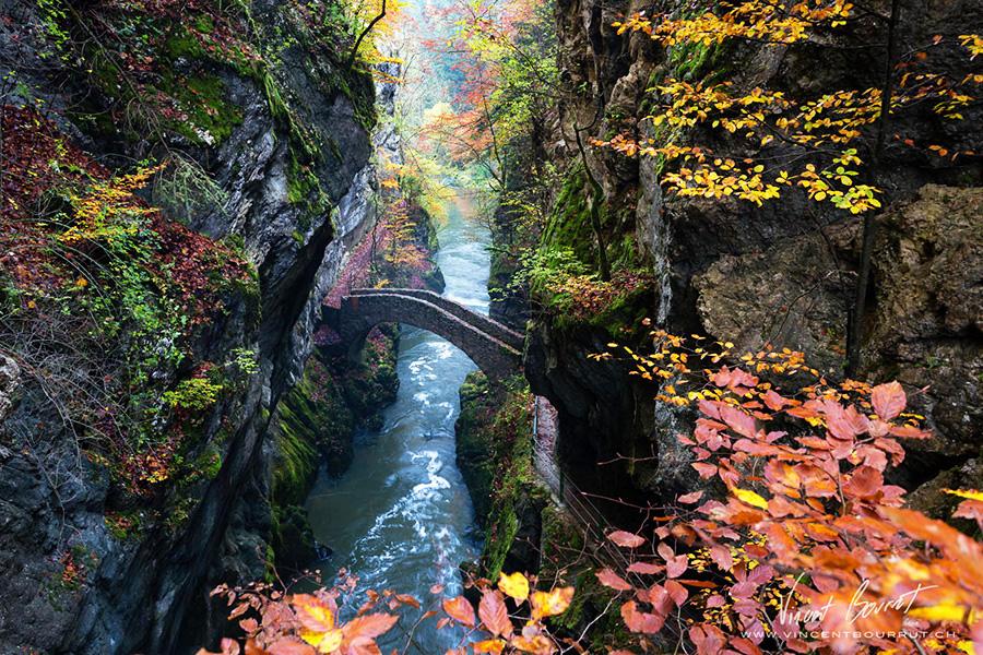 Удивительные мосты, Мост Gorge De L'areuse, Швейцария