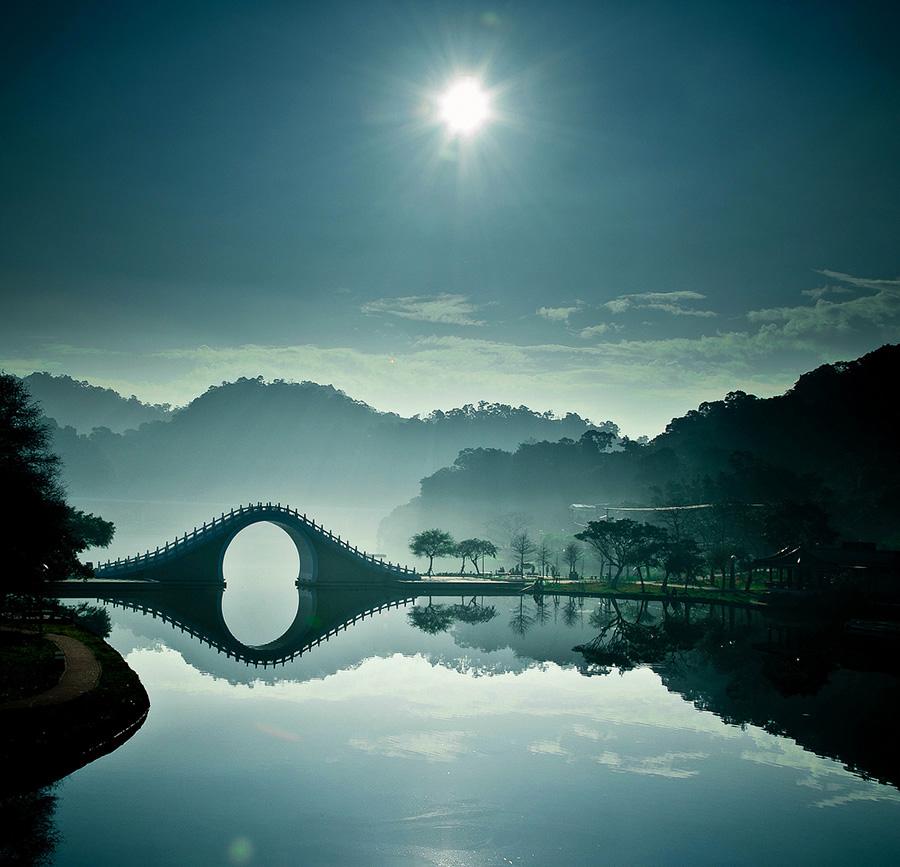Удивительные мосты, Лунный Мост – Тайбэй, Тайвань