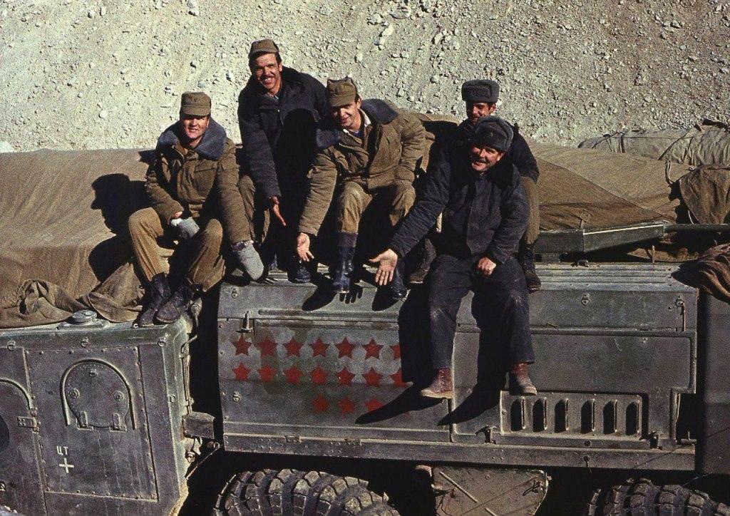 Редкие фотографии Афганской войны