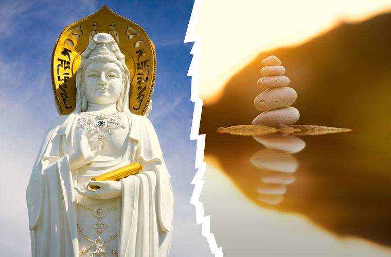 Китай и Япония, различие в религии