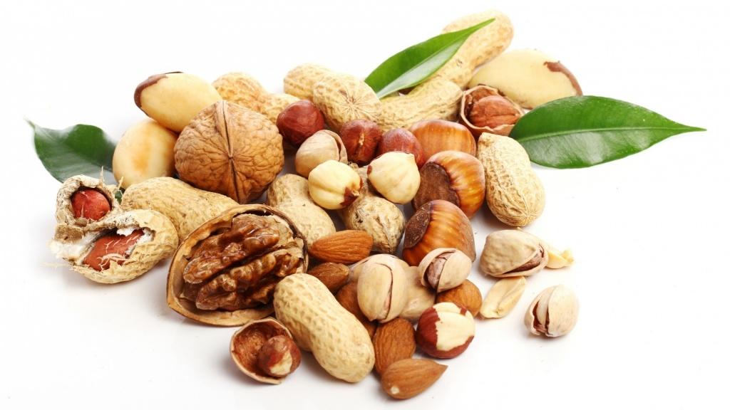 Источники полезных жиров, орехи