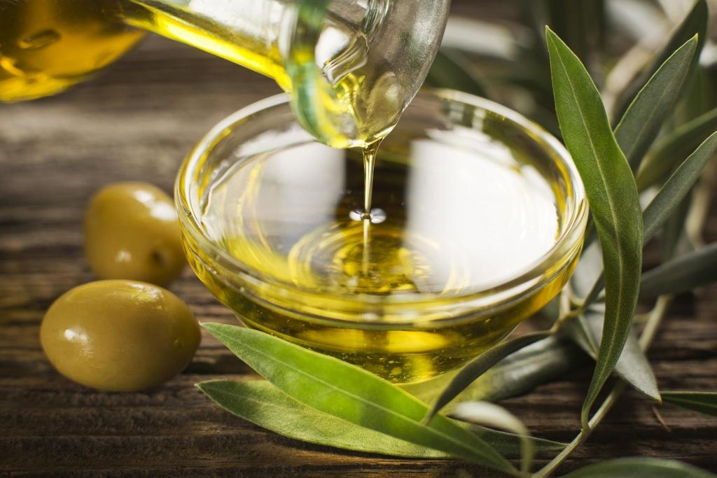 Источники полезных жиров, оливковое масло