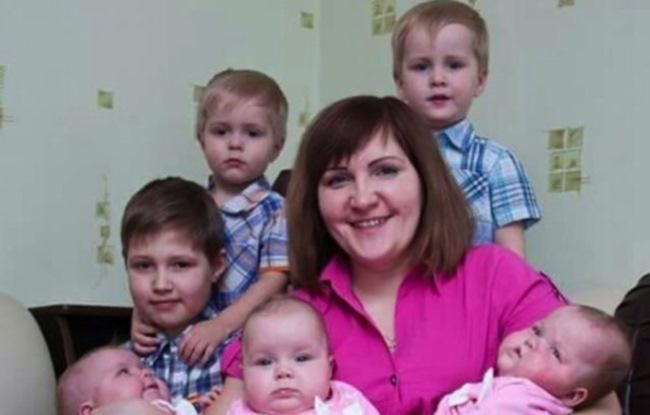 растил 6 детей в одиночку