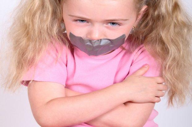 10 поговорок, Детей должно быть видно, но не слышно