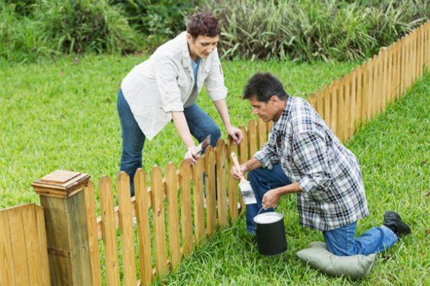 10 поговорок, Хорош забор — хорош сосед