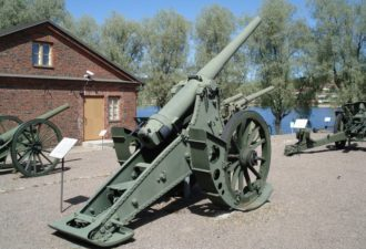 Пушки 19 века остановили немецкие танки под Москвой