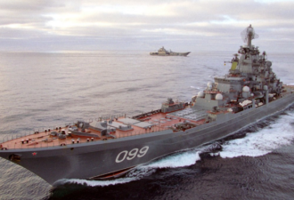 Российский крейсер