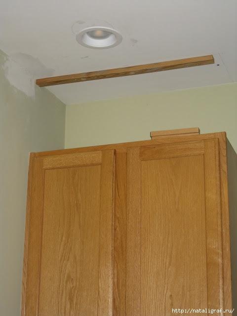 шкаф до потолка