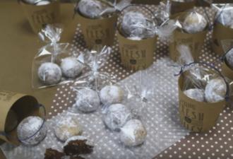 шоколадные снежки