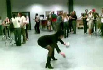 танец на корпоративе