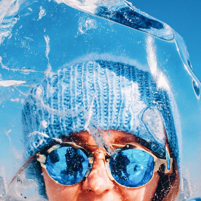 Замёрзший Байкал