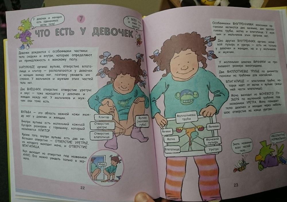 Детская книга про ЭТО