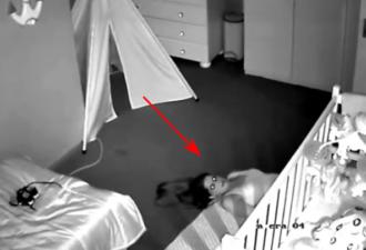 Необычное видео, снятое камерой видеонаблюдения