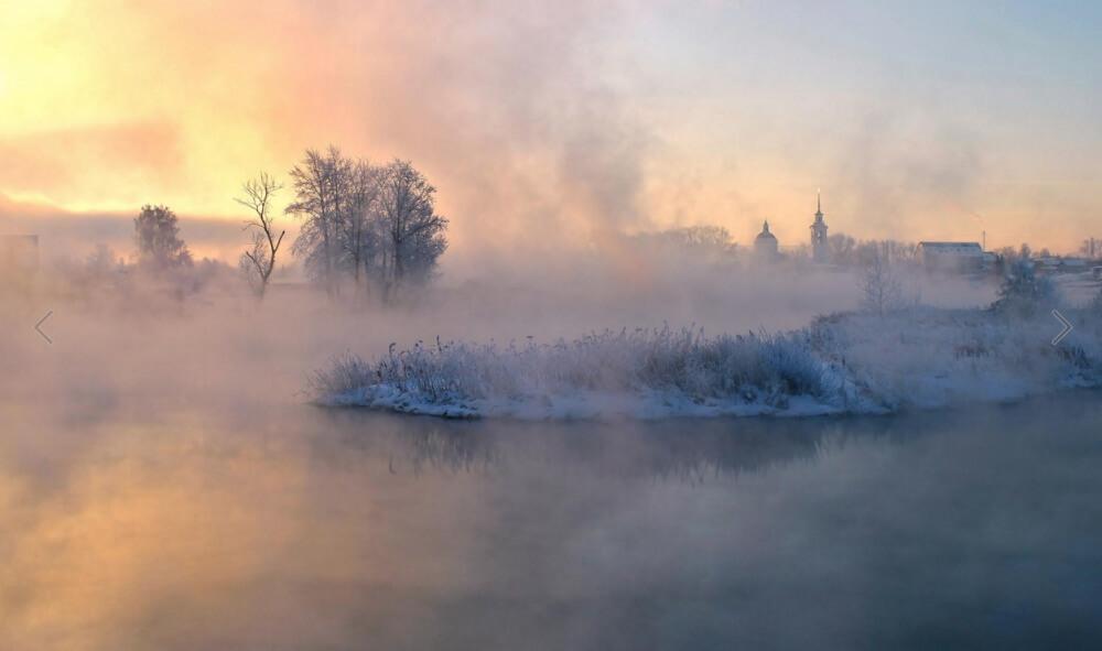 зима сказочно прекрасна, Арамил, Россия