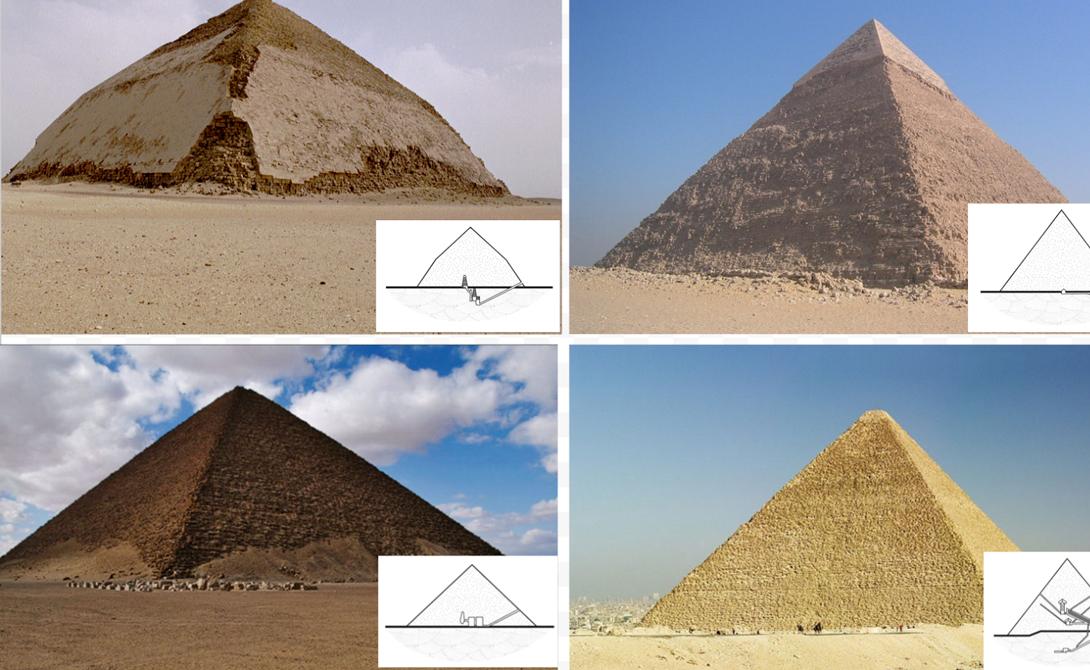 новые тайны Египетских пирамид