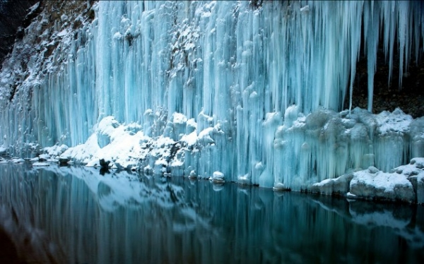 Замёрзшие водопады