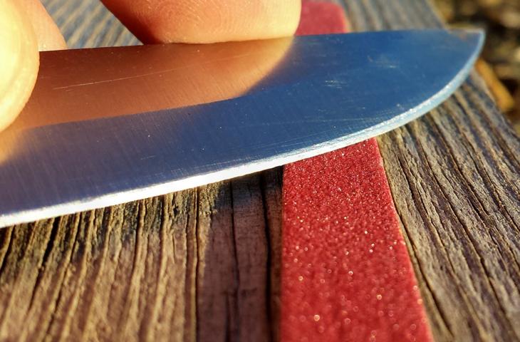 точить кухонные ножи самостоятельно