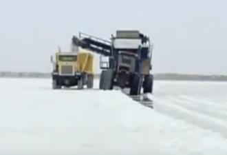 Как добывают морскую соль