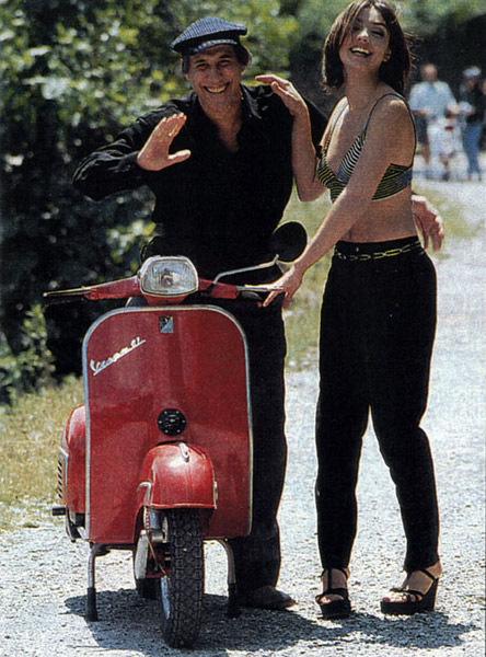 Мотоциклы Адриано Челентано - он всегда был поклонником марки Днепр
