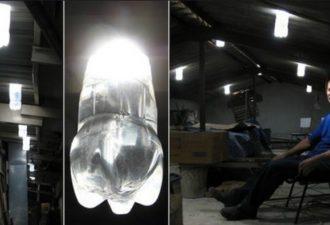 как осветить гараж бесплатно