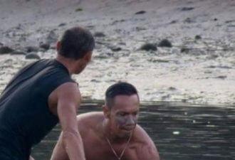 услышали плачь на пляже
