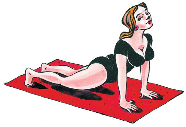 полезные упражнения для позвоночника